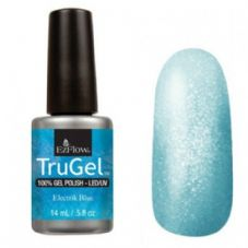 EzFlow Trugel Led/UV Gel Polish - Electrik Blue - 0.5oz/14ml